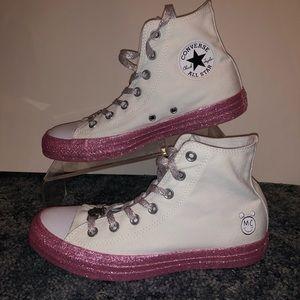 Converse X Miley Cyrus Sz 8 Shoes